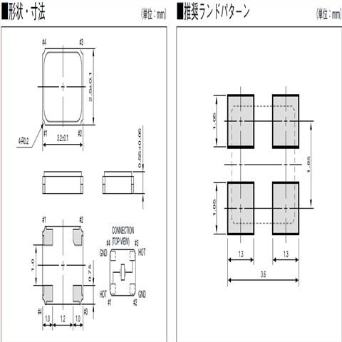 京瓷晶振,日本石英晶振,石英晶体谐振器,cx3225sb晶振