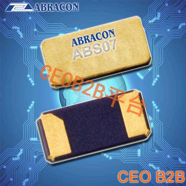 Abracon晶振,ABS07晶振,ABS07-32.768KHZ-4-T晶振,无源贴片晶振