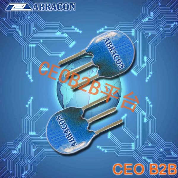 Abracon晶振,AWCR-MD晶振,三脚插件陶瓷谐振器