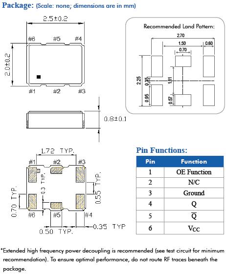 20mhz] 当振荡电路的设