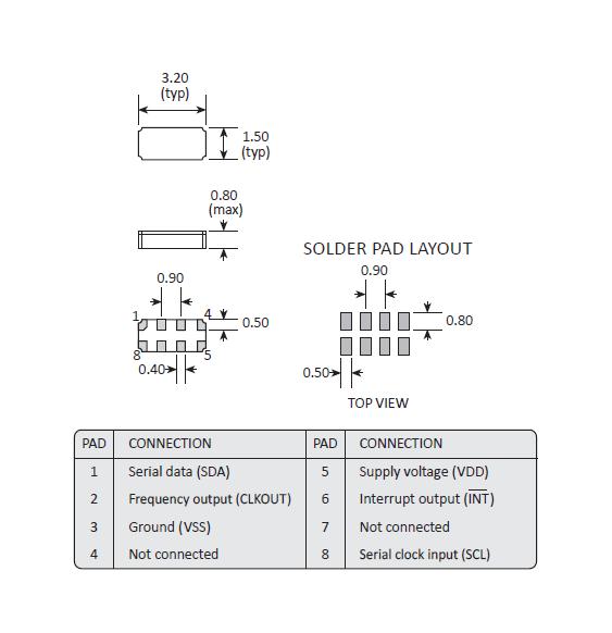 (2) smd 晶振与电阻以及电容器的芯片产品不同,由于在内部对石英晶振