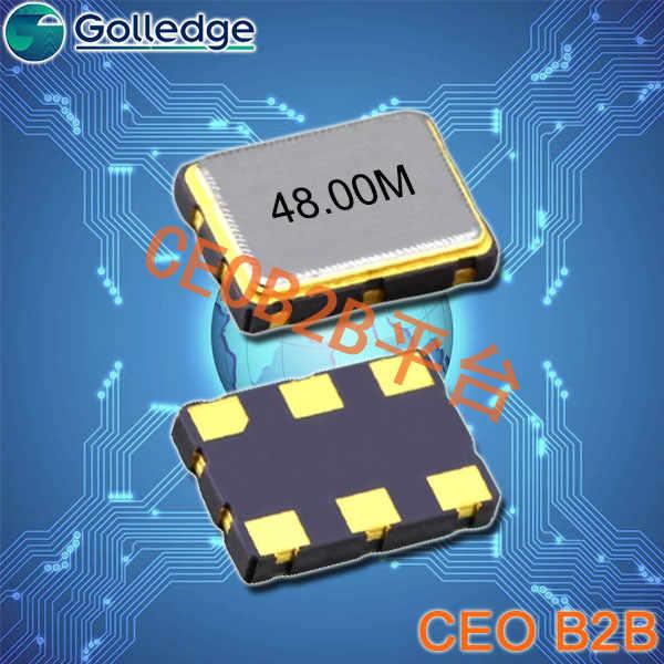 高利奇晶振,5070石英晶振,GXO-L71晶振