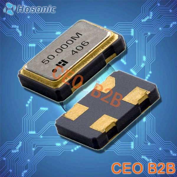鸿星晶振,OSC晶振,D7SX晶振