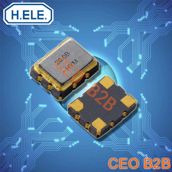 加高晶振,石英晶体振荡器,HSO751S晶振