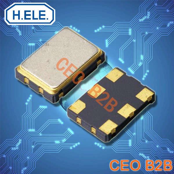 加高晶振,有源晶振,HSO753SJ晶振