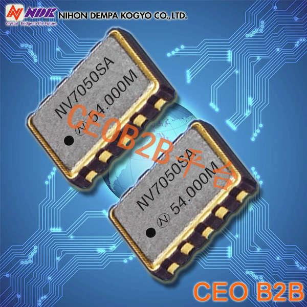 NDK晶振,OSC晶振,NV7050SF晶振