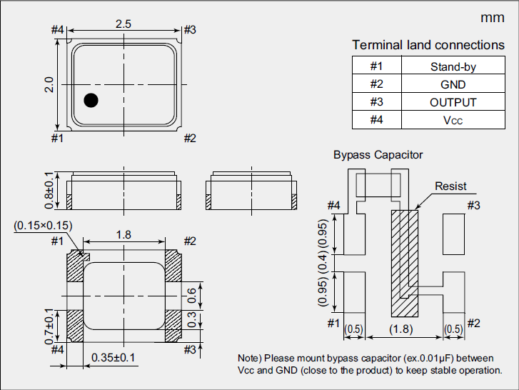 石英晶体振荡器,2520温度补偿晶振,nt2520sc晶振