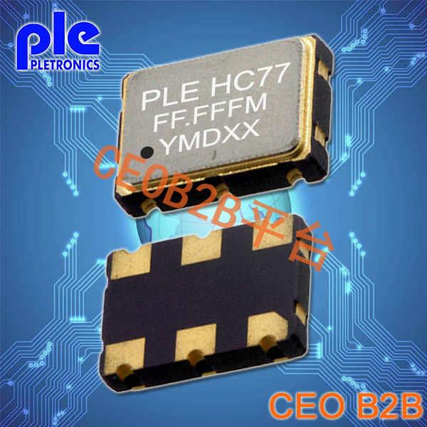 Pletronics晶振,LV77K晶振,贴片晶振