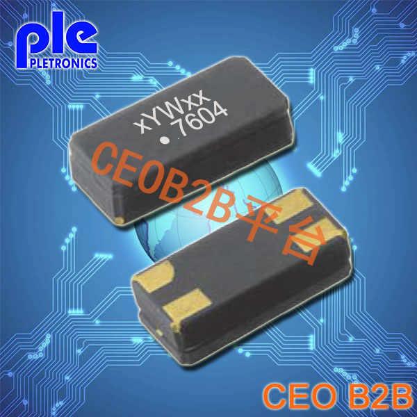 Pletronics晶振,S3880晶振,32.768K贴片晶振