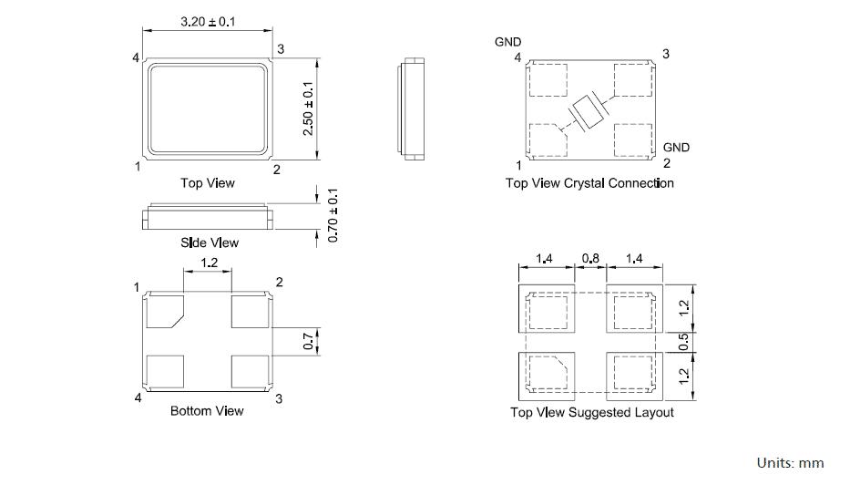 TXC晶振,台产晶振,DX晶振