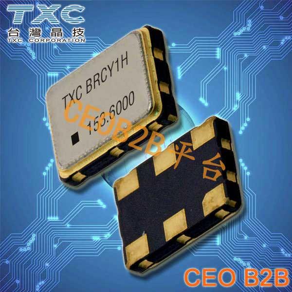 TXC晶振,温补晶振,7P晶振