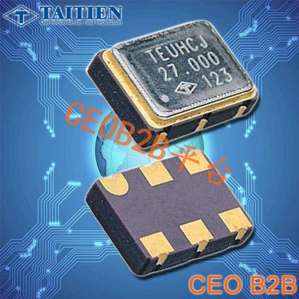 泰艺晶振,石英晶体振荡器,VT晶振