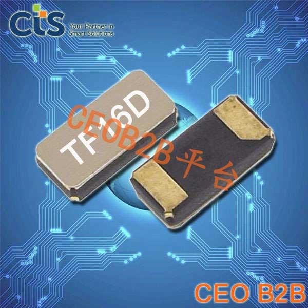 CTS晶振,32.768K晶振,TF16晶振