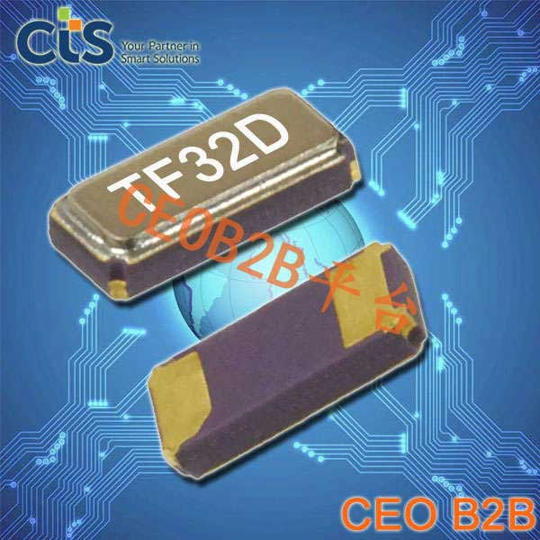 CTS晶振,32.768K,TF415晶振