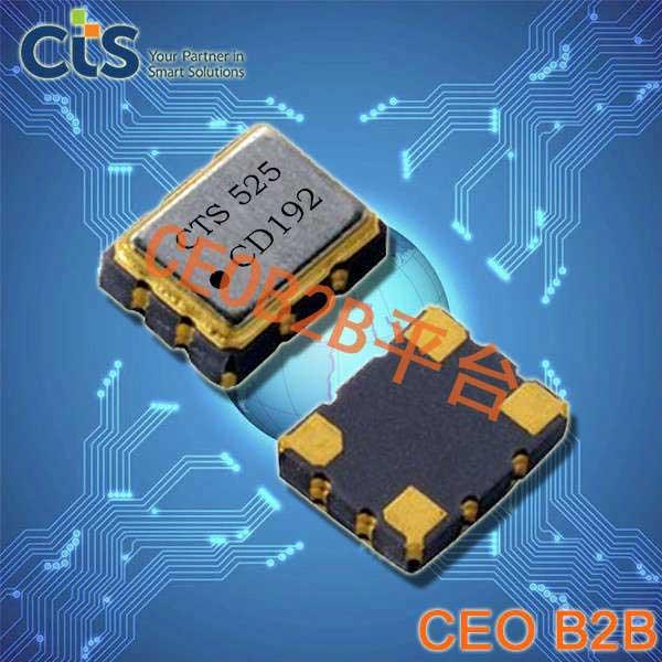 CTS晶振,VC-TCXO晶振,525晶振