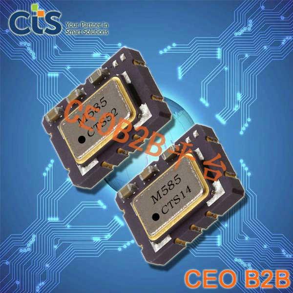 CTS晶振,压控温补晶振,579晶振