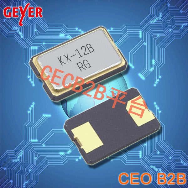 GEYER晶振,贴片晶振,KX-12B晶振,6035两脚谐振器