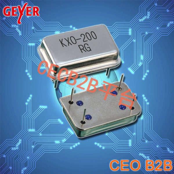 格耶晶振,有源晶振,KXO-200晶振,插件晶振