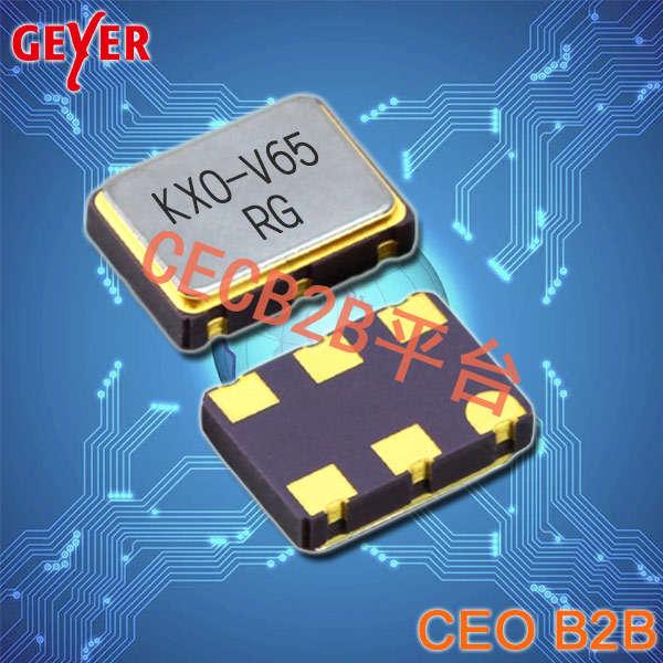 格耶晶振,有源晶振,KXO-V65晶振,六脚贴片晶振