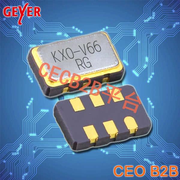 格耶晶振,有源晶振,KXO-V66晶振,LVDS晶体振荡器