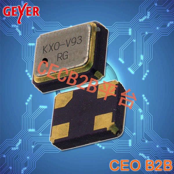 格耶晶振,有源晶振,KXO-V93T晶振,1612OSC振荡器