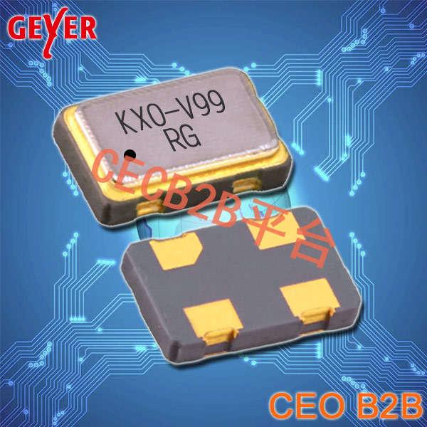 GEYER晶振,32.768K有源晶振,KXO-V99-kHz晶振,有源石英晶振