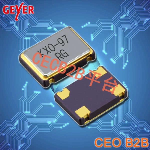 GEYER晶振,32.768K有源晶振,KXO-V97-kHz晶振,SPXO7050晶振