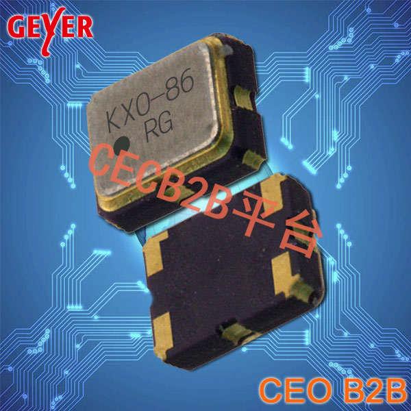 GEYER晶振,温补晶振,KXO-86晶振,2520有源晶振