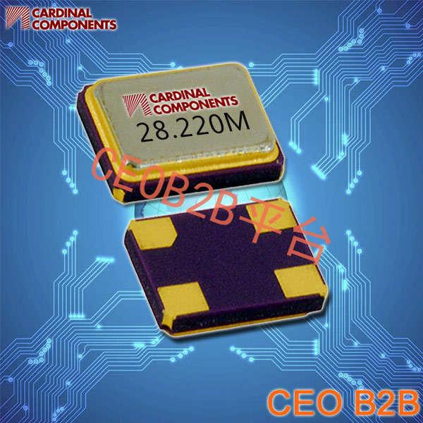Cardinal晶振,贴片晶振,CX1612晶振,1612石英谐振器