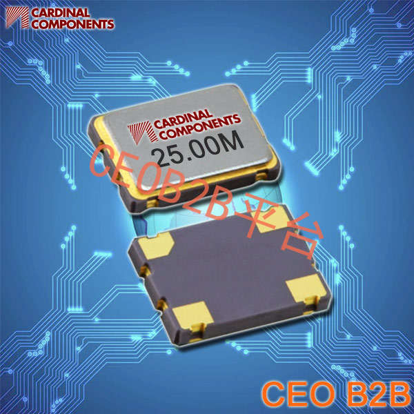 Cardinal晶振,有源晶振,CC85晶振,金属面SMD晶振