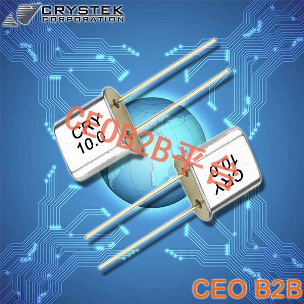 Crystek晶振,石英晶振,CRM晶振,插件晶振
