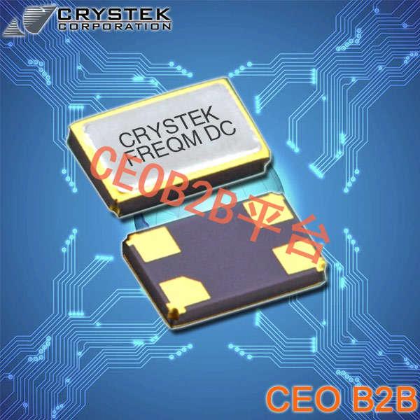 Crystek晶振,贴片晶振,CSX3晶振,无源贴片晶振
