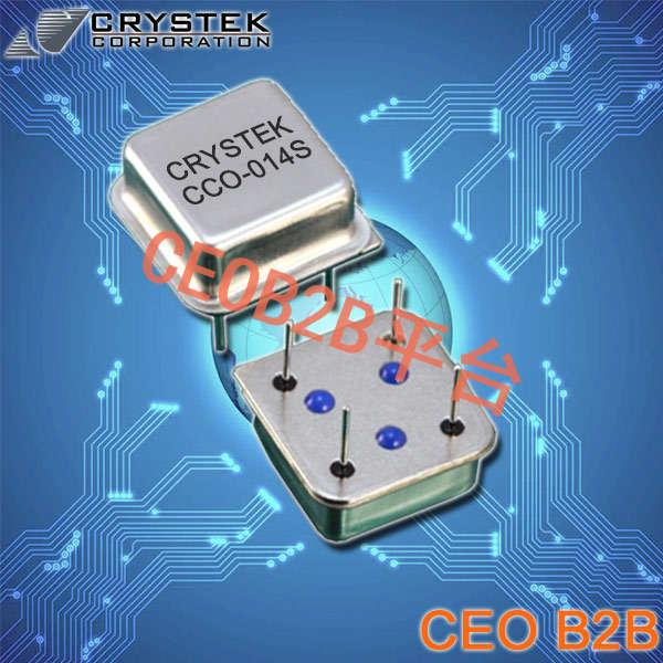 Crystek晶振,时钟振荡器,CCO-014S晶振,DIP石英晶振