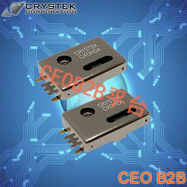 Crystek晶振,温补晶振,CXOHD4晶振,TCXO晶体振荡器