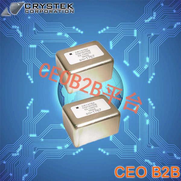 Crystek晶振,恒温晶振,CO27VS05DE-02-10-000晶振,OCXO晶体振荡器
