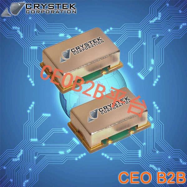 Crystek晶振,SAW时钟振荡器,CCSO-914X3-1000晶振,有源振荡器
