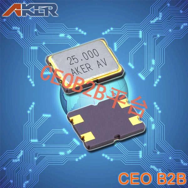 AKER晶振,CXAF-751石英晶体,CXA-016000-7B6A60谐振器