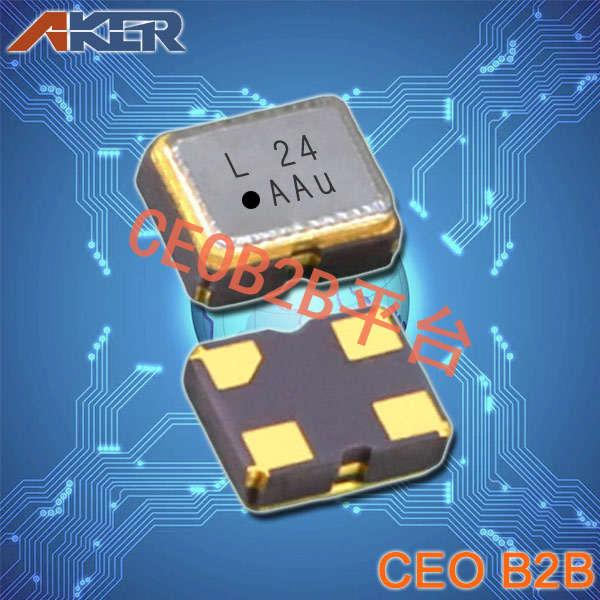 AKER晶振,SMAF-211贴片晶振,有源晶振