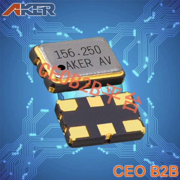 AKER晶振,差分晶振,SMDN-531晶振,低功耗有源晶振