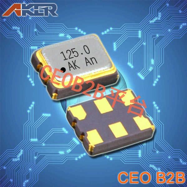 AKER晶振,SMDN-321振荡器,3225贴片晶振