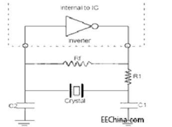 晶振振荡电路
