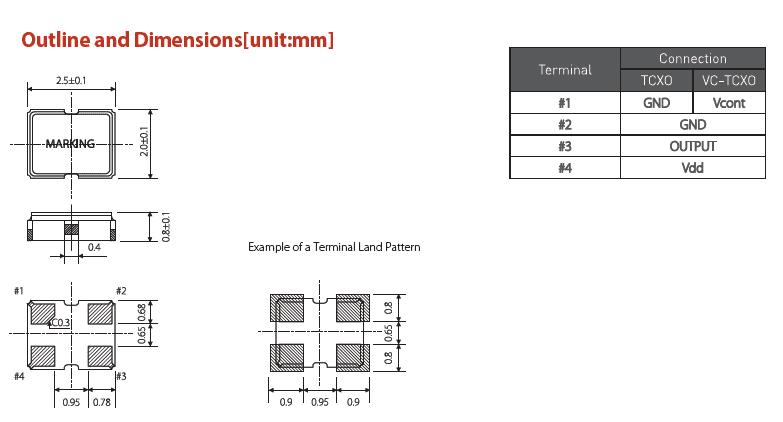 压控温补晶振,2520有源晶振,sto-2520晶振