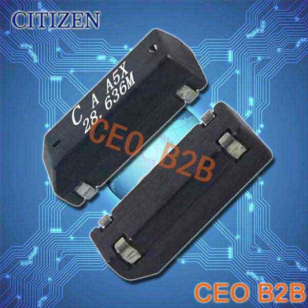 西铁城晶振,进口石英晶体谐振器,CM309A晶振