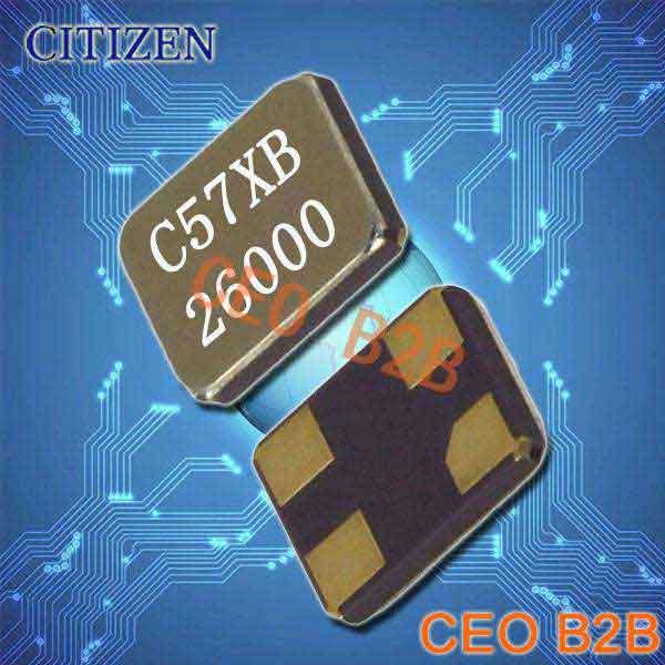 西铁城晶振,进口石英晶振,CS325S晶振
