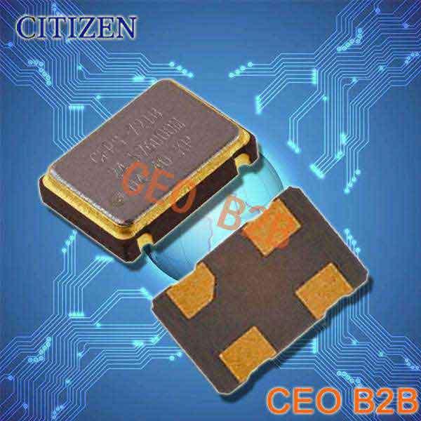 西铁城晶振,普通有源晶振,CSX-750F晶振