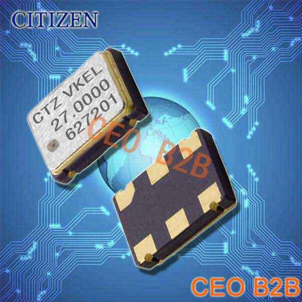 西铁城晶振,OSC晶振,CSX-750V晶振