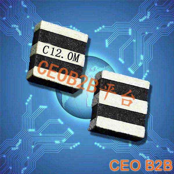 陶瓷晶振,陶瓷谐振器,ZTT3.7×3.1晶振
