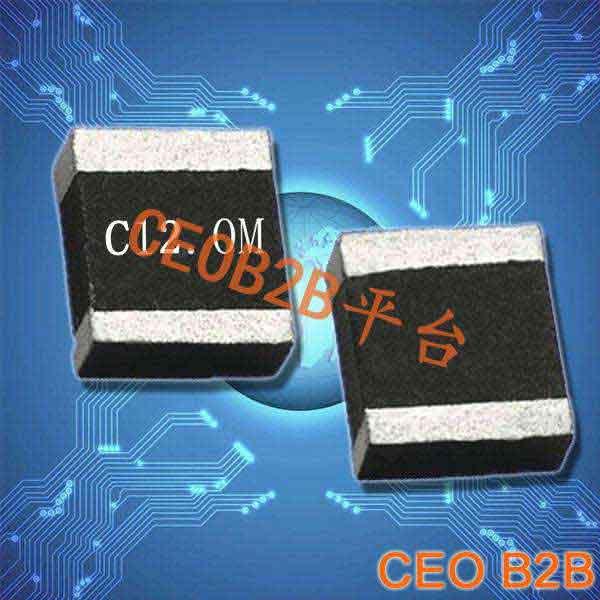 陶瓷晶振,陶瓷谐振器,ZTT4.7×4.1两脚晶振