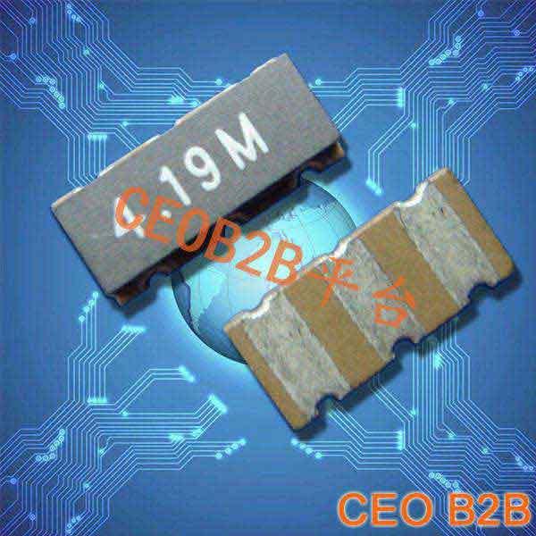 陶瓷晶振,陶瓷谐振器,ZTT3脚4.19M晶振