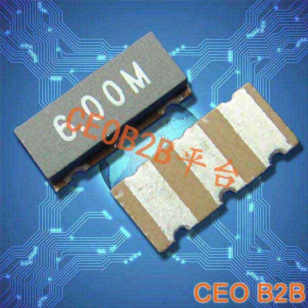 陶瓷晶振,陶瓷谐振器,ZTT6M贴片晶振